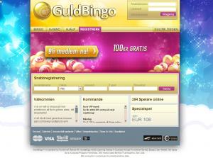 Guldbingo - Presentkort